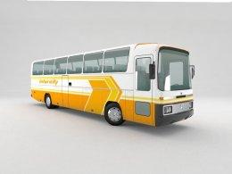 3D Model os a Mercedes O303 Bus