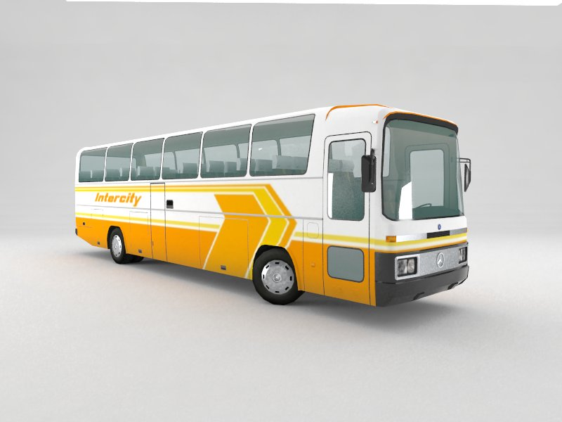 Mercedes O303 Bus | FormFonts 3D Models