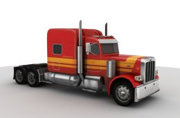 3D model of the Peterbilt 389 truck