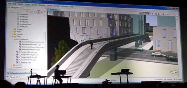 Go to ESRI's website to see a video demo