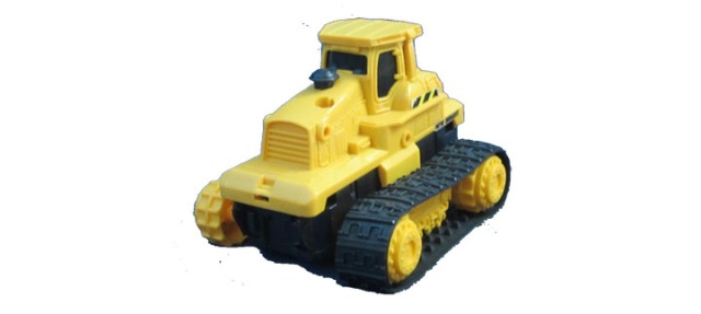A toy tractor to capture using Autodesk123