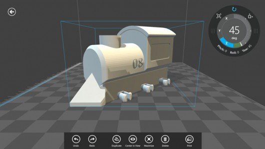 Microsoft Releases '3D Builder' - a 3D Printing App for Windoze