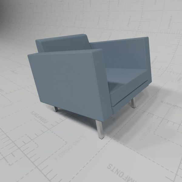 3D Model of Rong Seating