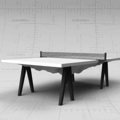 3D model of Slab Table by Snarkitecture